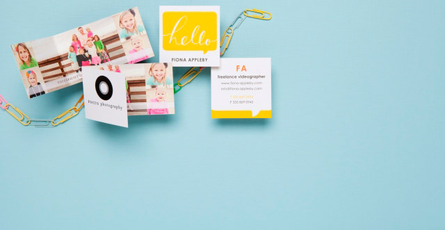 Four top sites for creative business cards dowitcher designs tinyprints business cards colourmoves Images