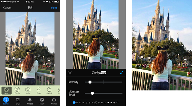how to take out of focus pictures on iphone