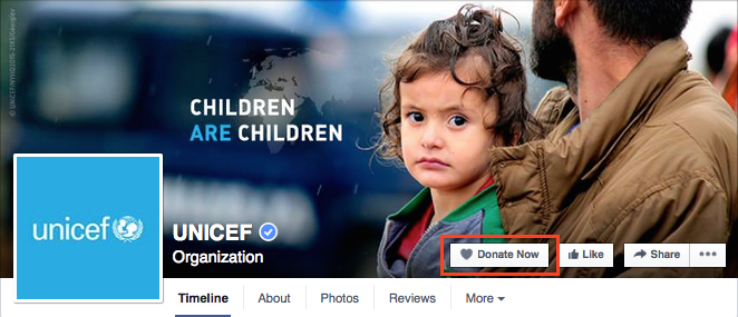 how to change facebook page to non profit