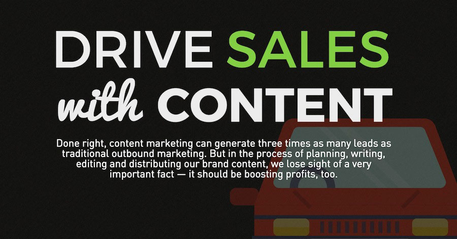 Tips to Drive Sales with Your Content Marketing