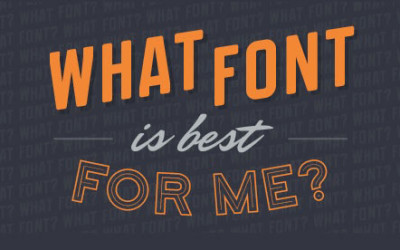 Pick A Font [Infographic]