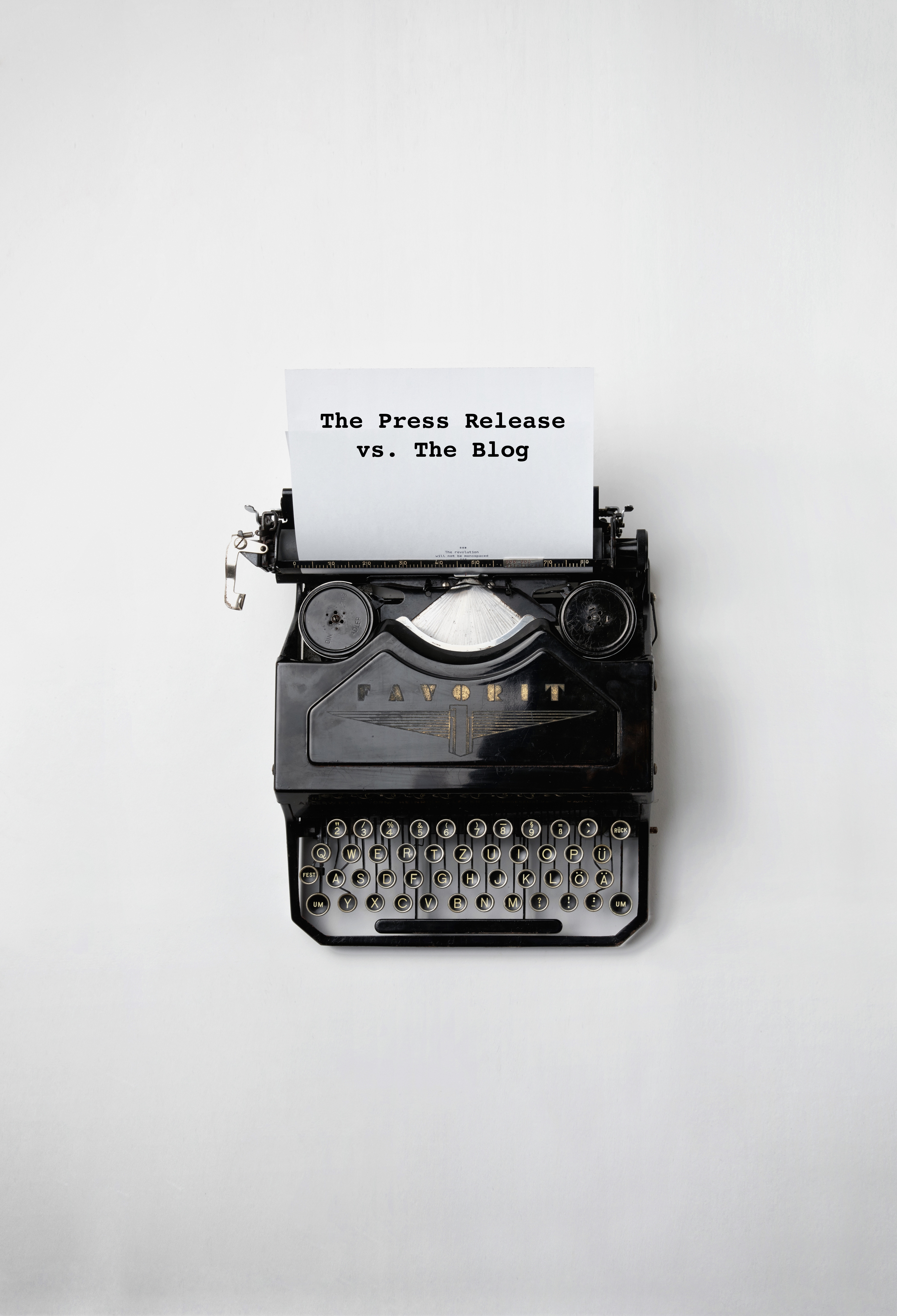 The Passé Press Release and Other Stories