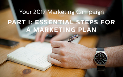 Essential Steps of a 2017 Marketing Plan