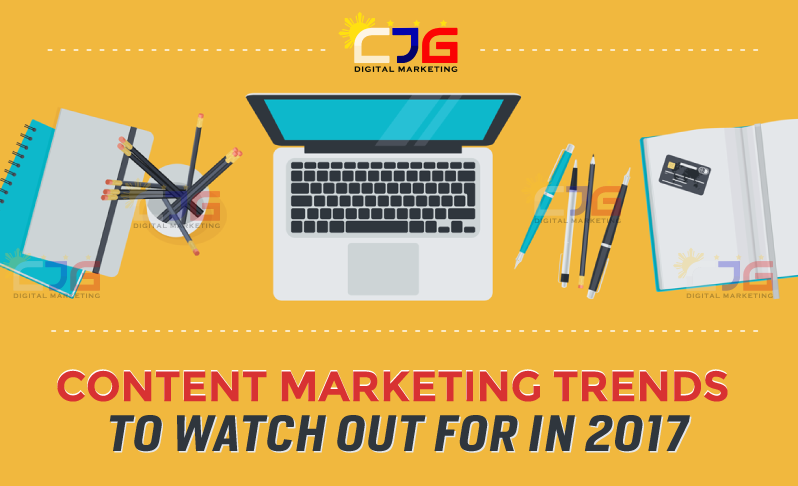 2017 Content Marketing Trends (Infographic)