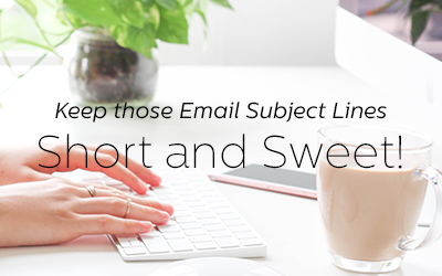 For Better Email Performance, Keep Subject Lines Short and Personal