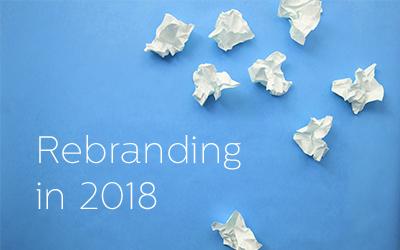 Rebranding in 2018