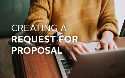 Creating a Request for Proposal (RFP)