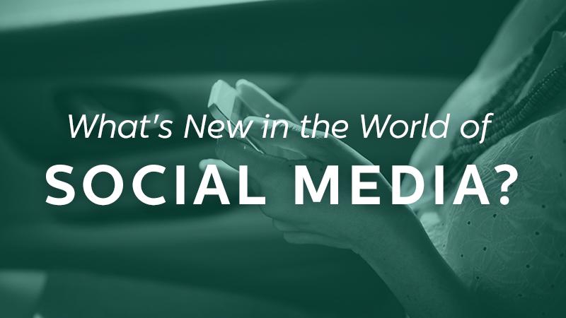 new social media trends