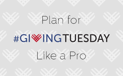 Planning for #GivingTuesday