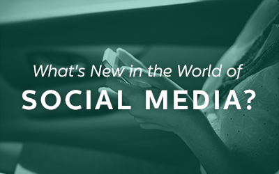 What's new in the world of social media?
