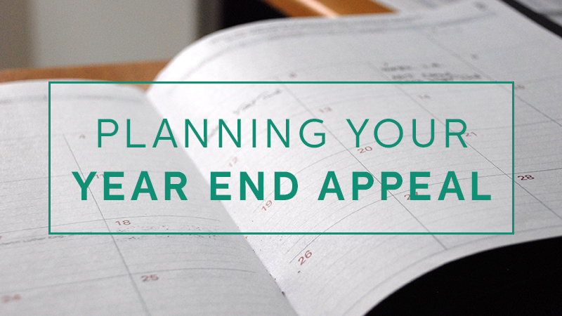 planning year end appeal