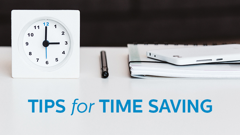 Time Saving Tips for Your Business | Dowitcher Designs